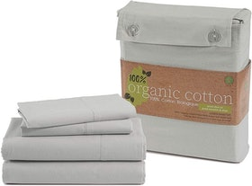 Top 10 Best Organic Cotton Sheets in 2021 (Burt's Bees Baby, AmazonBasics, and More) 1