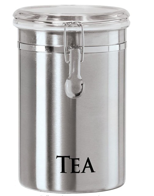 Oggi Brushed Stainless Steel Airtight Canister 1