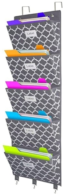 Homyfort Over The Door File Organizer 1