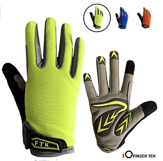 FINGER TEN Kids Cycling Gloves 1