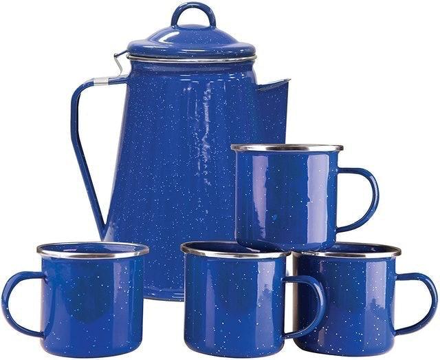 Stansport Enamel Percolator Mugs 1