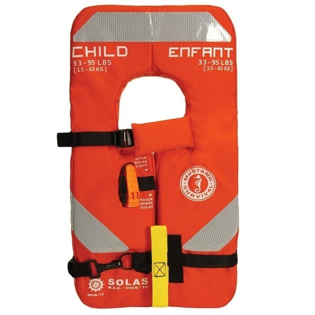 Mustang Survival Solas Type 1 Chile Life Jacket  1