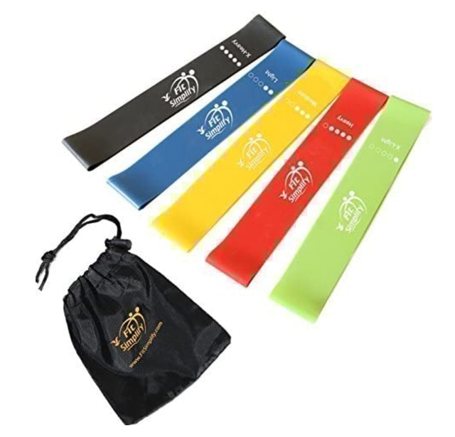 Fit Simplify Resistance Loop Exercise Bands 1