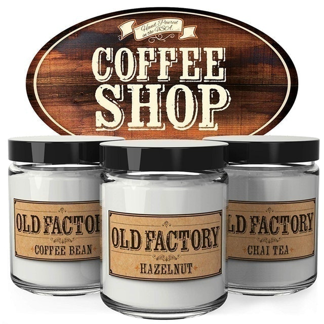 Old Factory Scented Candles 1