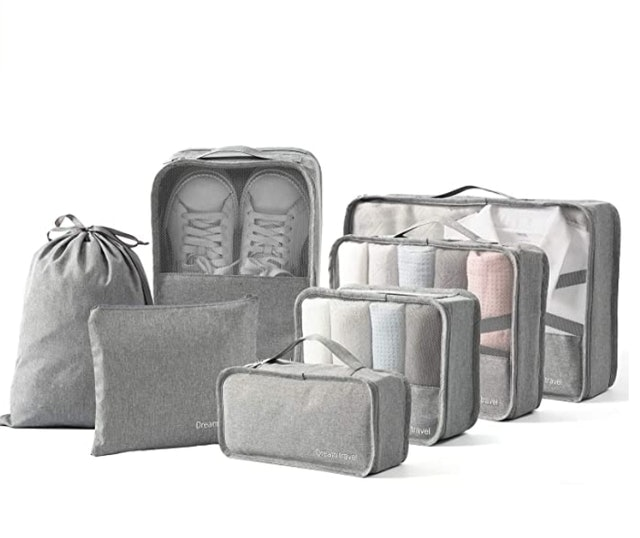 BIMNOOT Packing Cubes With Laundry and Shoe Bag 1