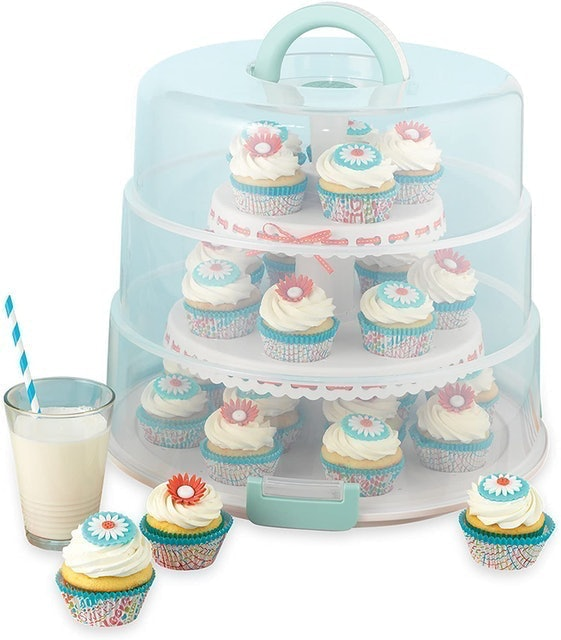 Sweet Creations Collapsible Cupcake Carrier 1