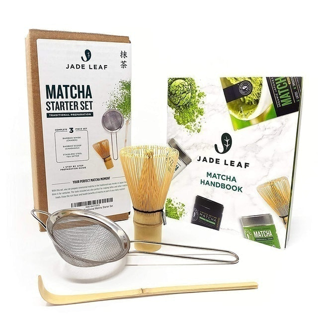 Jade Leaf Matcha Traditional Matcha Starter Set 1