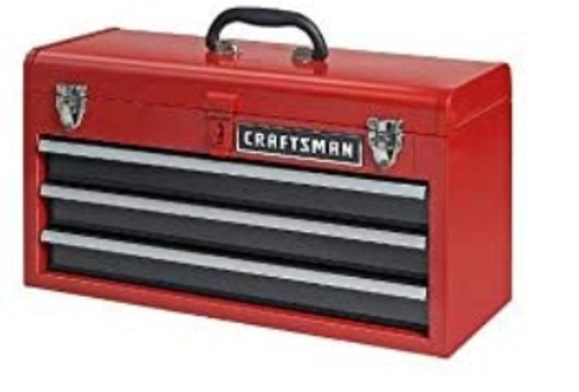 Craftsman 3-Drawer Metal Toolbox 1