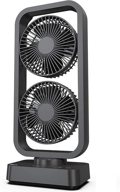 OPOLAR Portably Battery Operated Desk Fan  1