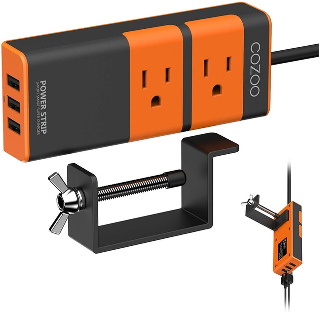 Cozoo Aluminum 2-Outlet Travel Power Striip 1
