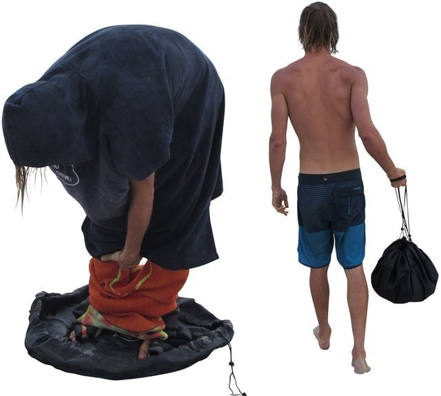 Ho Stevie! Wetsuit Changing Mat and Waterproof Dry-Bag 1