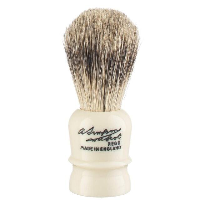 Simpsons Shaving Brushes Wee Scot Best Badger Shave Brush 1
