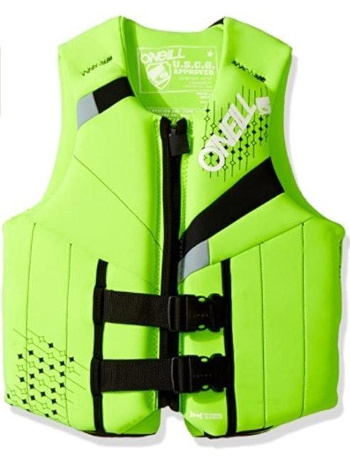 O'Neill Wetsuits Teen Reactor USCG Life Vest 1