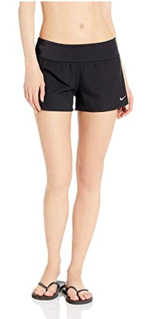 Nike Women's Solid Element Swim Boardshort 1