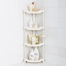 Top 10 Best Corner Shower Caddies in 2021 (simplehuman, iDesign, and More) 5
