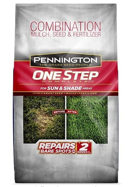 Pennington One Step Complete Grass Seed for Sun & Shade Areas 1