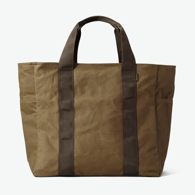 Filson Large Tin Cloth Grab 'n' Go Tote Bag 1