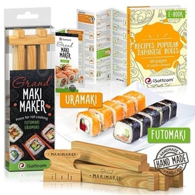 Top 10 Best Sushi Making Kits in 2021 (Bambooworx, Aya, and more) 3