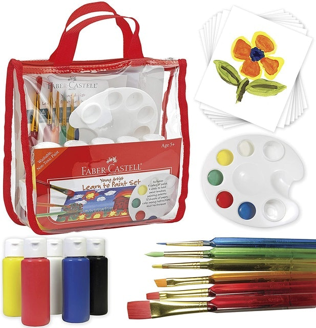 Faber-Castell Young Artist Learn To Paint Set  1