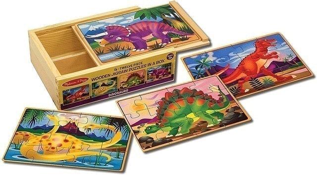 Melissa & Doug  Wooden Jigsaw Puzzles 1