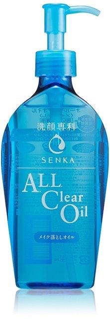 Shiseido Senka All Clear Oil 1