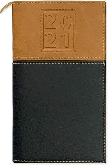 Book Factory 2021 Weekly Pocket Calendar 1