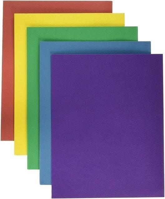 School Smart  Extra Large 2-Pocket Folders 1