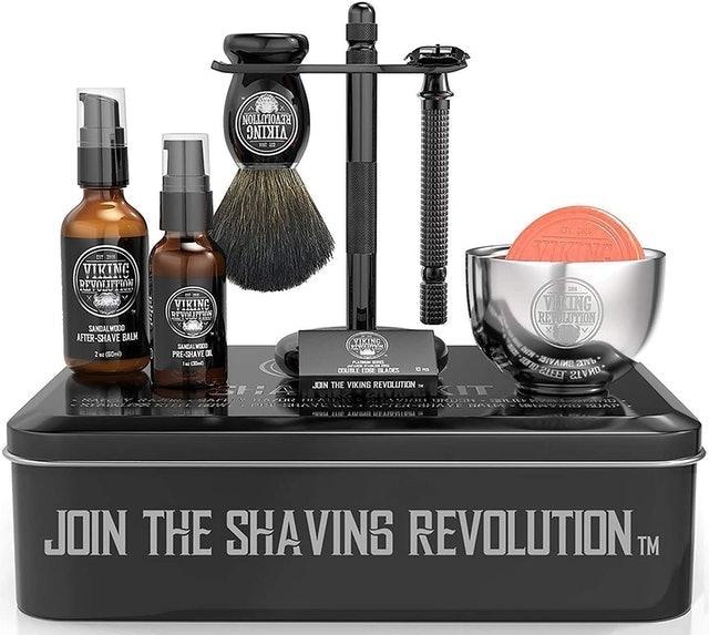 Viking Revolution Luxury Safety Razor Shaving Kit 1