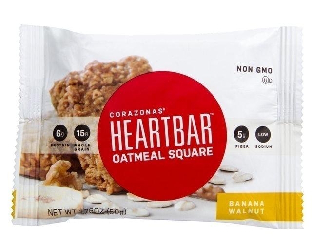 Heartbar Oatmeal Square 1