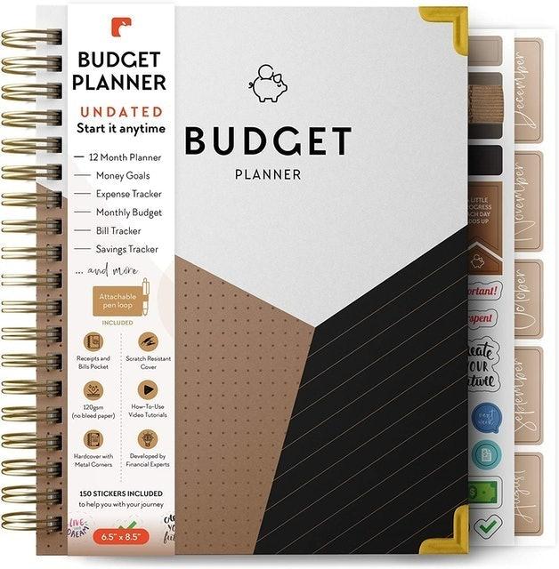 DebtorEdu Comprehensive Monthly Budgeting Journal 1