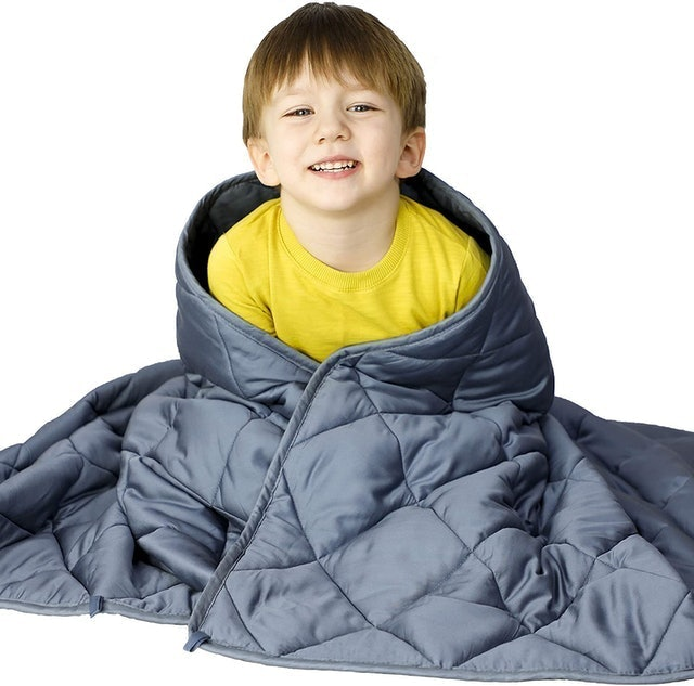 Wonap Bamboo Weighted Blanket for Kids 1