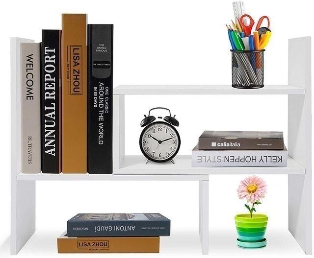 Hossejoy Desktop Shelf Rack 1