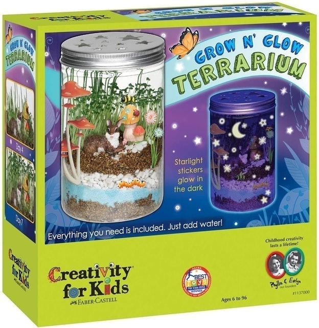 Creativity for Kids Grow 'N Glow Terrarium Science Kits for Kids 1