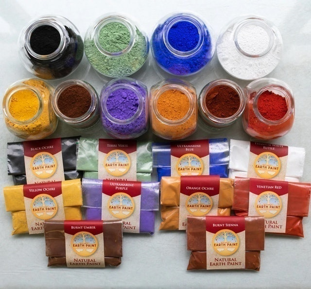 Natural Earth Paint The Earth Oil Paint Kit 1
