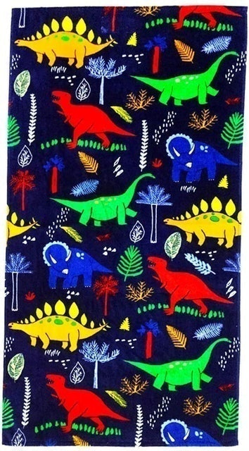 Yifontin Terry Velour Beach Towel for Kids 1