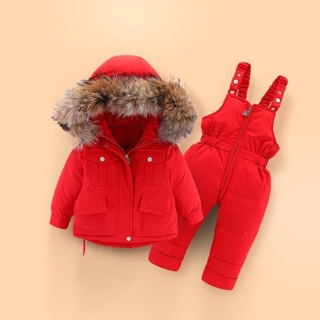Bally Hooded Two-Piece Snowsuit Set 1
