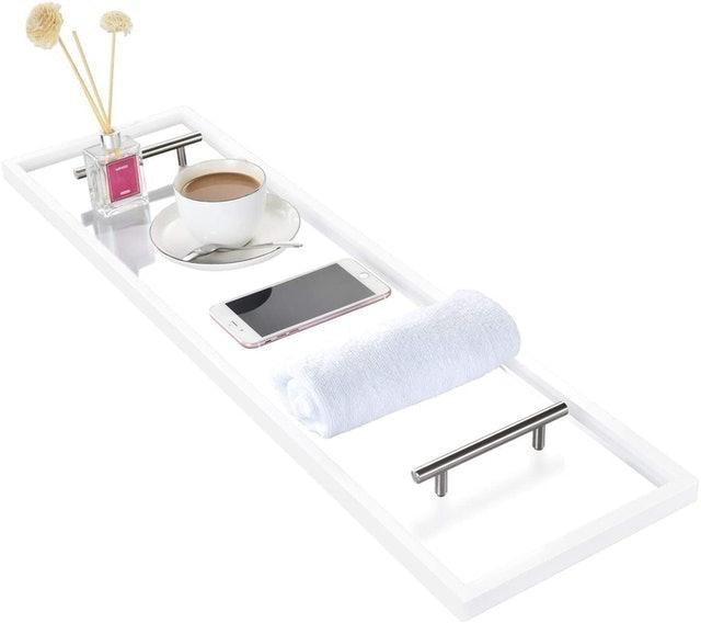 ToiletTree  Clear Acrylic Bathtub Caddy 1