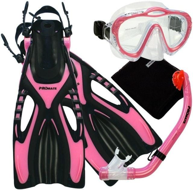 Promate Junior Snorkeling Mask 1