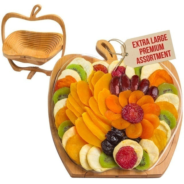 Bonnie and Pop Dried Fruit Gift Basket  1
