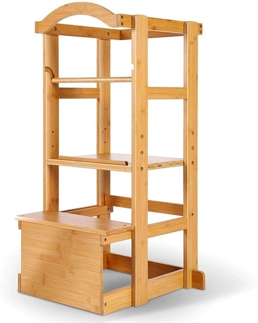Ipow Learning Stool Toddler Tower 1