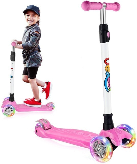 Beleev Kids Scooter Three Wheel 1