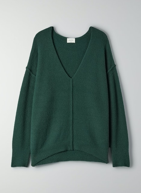 Wilfred Free Relaxed V-Neck Sweater 1