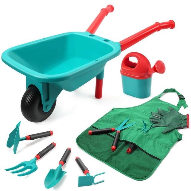 Cute Stone Kids Gardening Tool Set 1