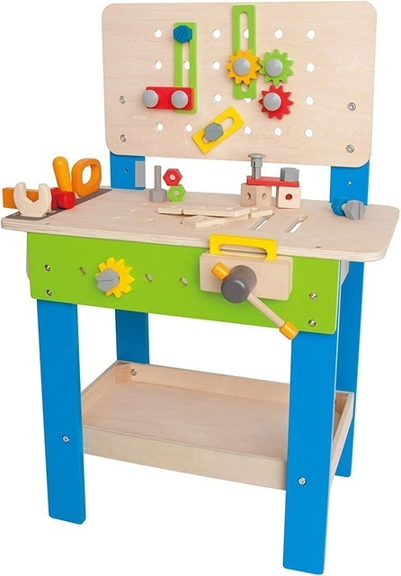 Hape Kid's Wooden Tool Bench 1