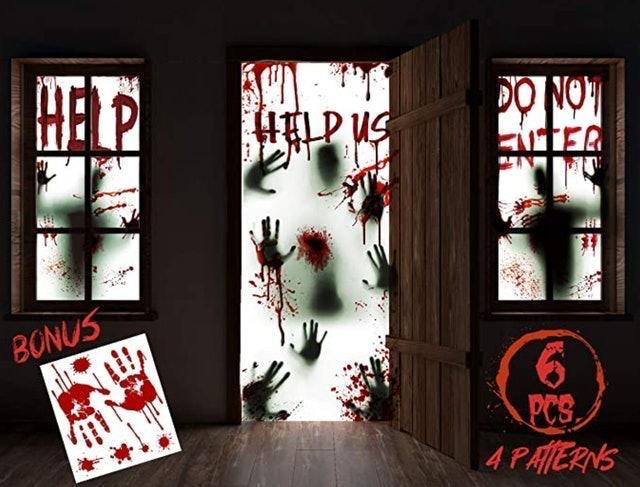 KD Kidpar Window and Door Decorations 1