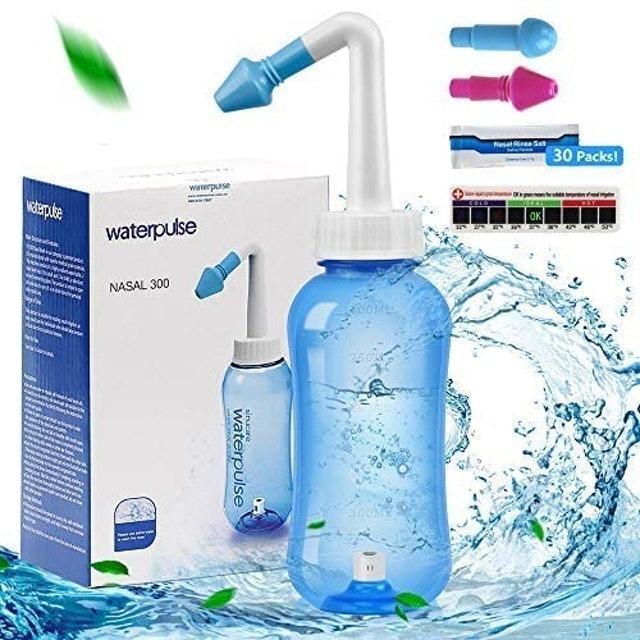 Wellead Waterpulse Neti Pot Sinus Rinse Bottle 1