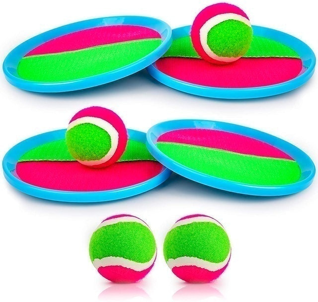 Ayeboovi Toss and Catch Ball Game Outdoor Game 1