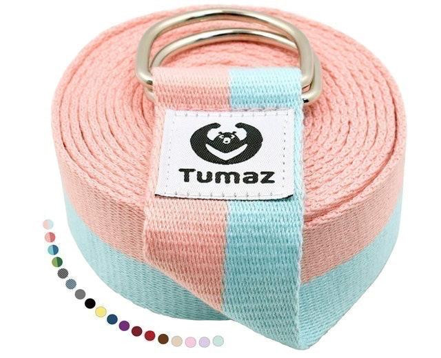 Tumaz Yoga Strap With D-Ring Buckle 1