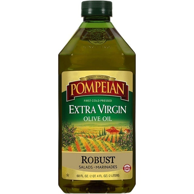 Pompeian First Cold Pressed Extra Virgin Olive Oil 1