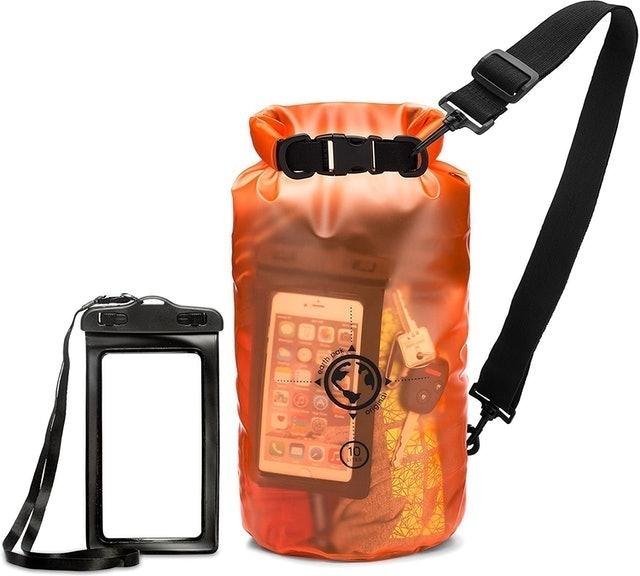 Earth Pak Transparent Dry Bag 1